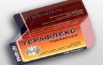 Терафлекс — инструкция по применению, побочные эффекты, отзывы