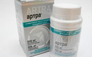 Артра: инструкция по применению, противопоказания, побочные эффекты, аналоги, отзывы