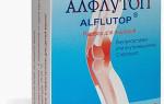 Алфлутоп — инструкция по применению, действие, показания и противопоказания, мнение врачей и пациентов о препарате