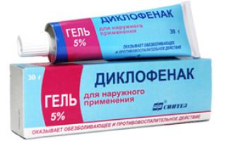 Диклофенак — мазь, таблетки, инструкция по применению, противопоказания и риски, отзывы