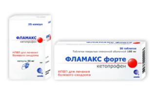 Фламакс — инструкция по применению, побочные эффекты, отзывы